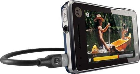 Motorola Milestone XT720 llega a Europa, con 8 megapíxeles y Flash de Xenón