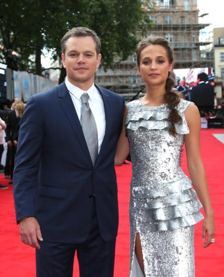 Alicia Vikander, una guapísima y plateada chica Bourne en Londres