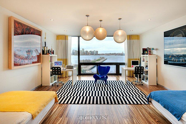 la espectacular nueva casa de heidi klum en nueva york. Black Bedroom Furniture Sets. Home Design Ideas