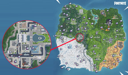 Mapa Fortnite Temporada 9.Fortnite Temporada 9 Mapa Y Video Con Todos Los Fortbytes