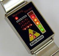 Reloj radiactivo