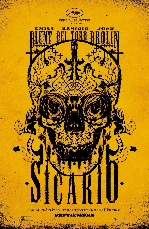Todos los carteles de la película 'Sicario'