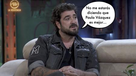 """Broncano sorprende en 'La Resistencia' con su corte a Antonio Orozco: """"No he hablado nunca con Eva González, ni quiero"""""""