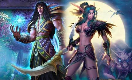 La mayoría de los jugadores cambia de sexo en los MMORPG