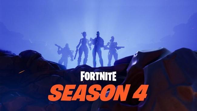 Fortnite Cuarta Temporada