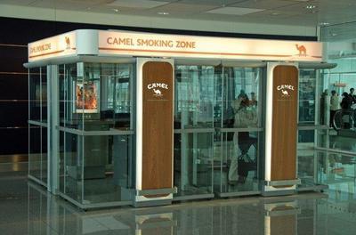 Aeropuertos con áreas para fumadores