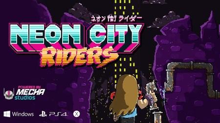 Probamos Neon City Riders, el prometedor juego desarrollado en México que ya alcanzó su meta en Kickstarter