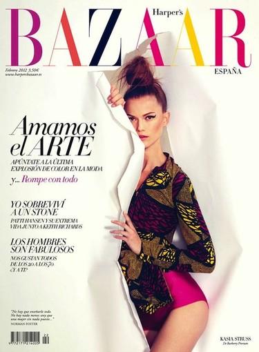 La vida en tecnicolor, por Harper's Bazaar y Kasia Struss