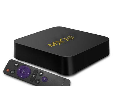 Oferta Flash: TV Box MX10, con 4GB de RAM y Android Nougat, por 41,58 euros y envío gratis