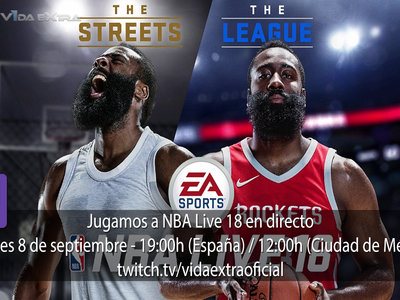 Jugamos en directo a NBA Live 18 a las 19:00h (las 12:00h en Ciudad de México) [Actualizado]