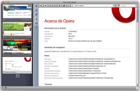 Opera 10 avanza hasta la beta 3