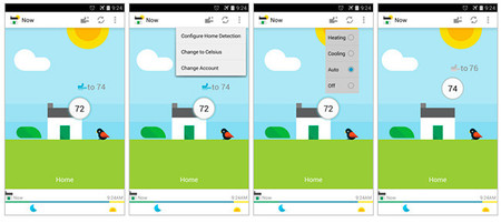 EnergySense screenshoots