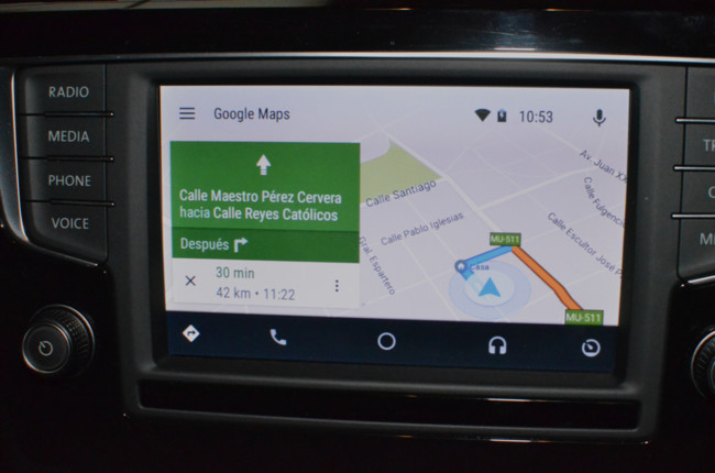 Android Auto Review Google Maps