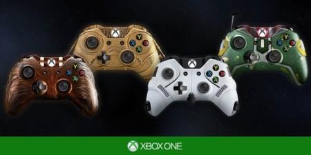 Imagen de la semana: los mejores mandos de Xbox One son de Star Wars