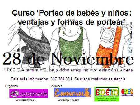 Taller de portabebés en Almería