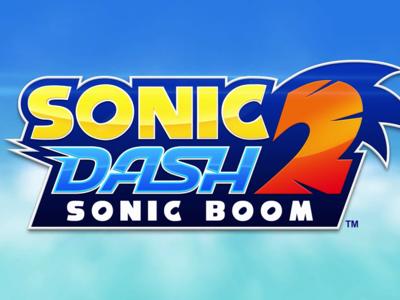 Sonic Dash 2: Sonic Boom, ya disponible en Google Play la secuela de su mejor endless runner