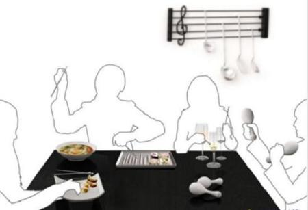 Orchestra Kitchenware, para una cocina musical