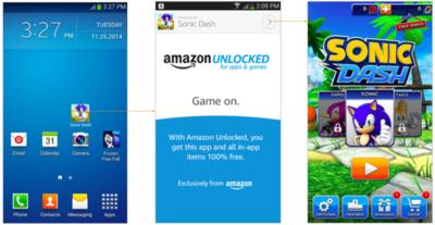 Llegan rumores del nuevo programa Unlocked de Amazon.¡Más aplicaciones gratis, por favor!