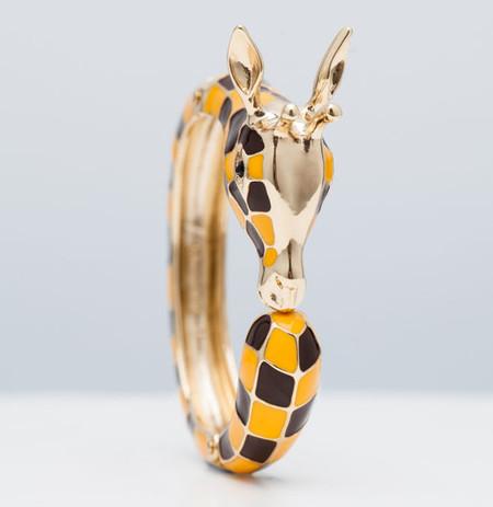 pulsera jirafa de Uterqüe