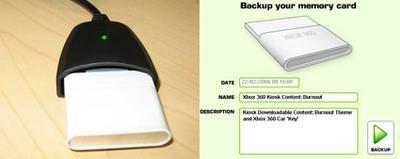 Xbox 360: lector Datel para las tarjetas de memoria