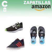 Chollos en tallas sueltas de zapatillas y chanclas Quiksilver, Nike o Adidas en Amazon