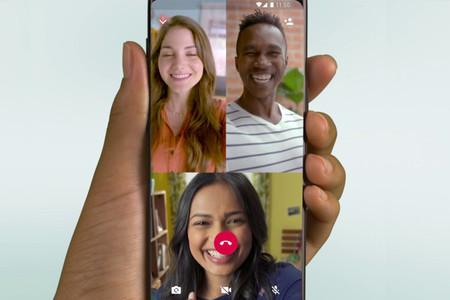 Así puedes hacer una videollamada de WhatsApp con hasta ocho personas, si tienes la beta de Android