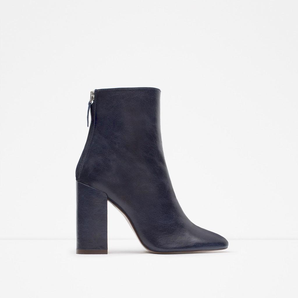 Bsbatwpq 2017 Resina Tacon Zapatos Y acceptable Zara Punta Marrones Cww1f0Xq