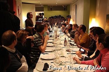 Cata de aceites y cena, en Vino y Oliva