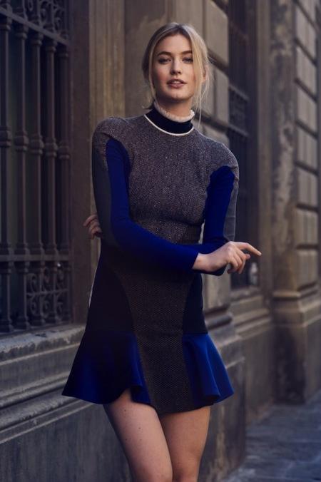 Tendencias Otoño-Invierno 2012/2013: profundiza en el negro y mézclalo con azul... eléctrico