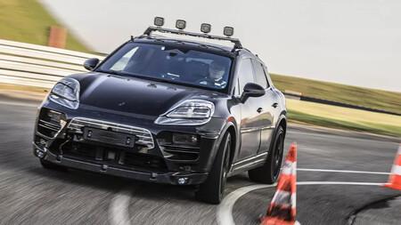 Porsche Macan Ev Fotos Espia 3
