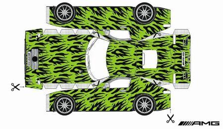 Ya puedes hacer tu propio Mercedes AMG GT...de papel
