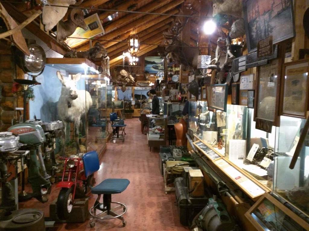 El Museo de Fort Nelson que alberga vehículos de la Segunda Guerra Mundial y especímenes raros de taxidermia