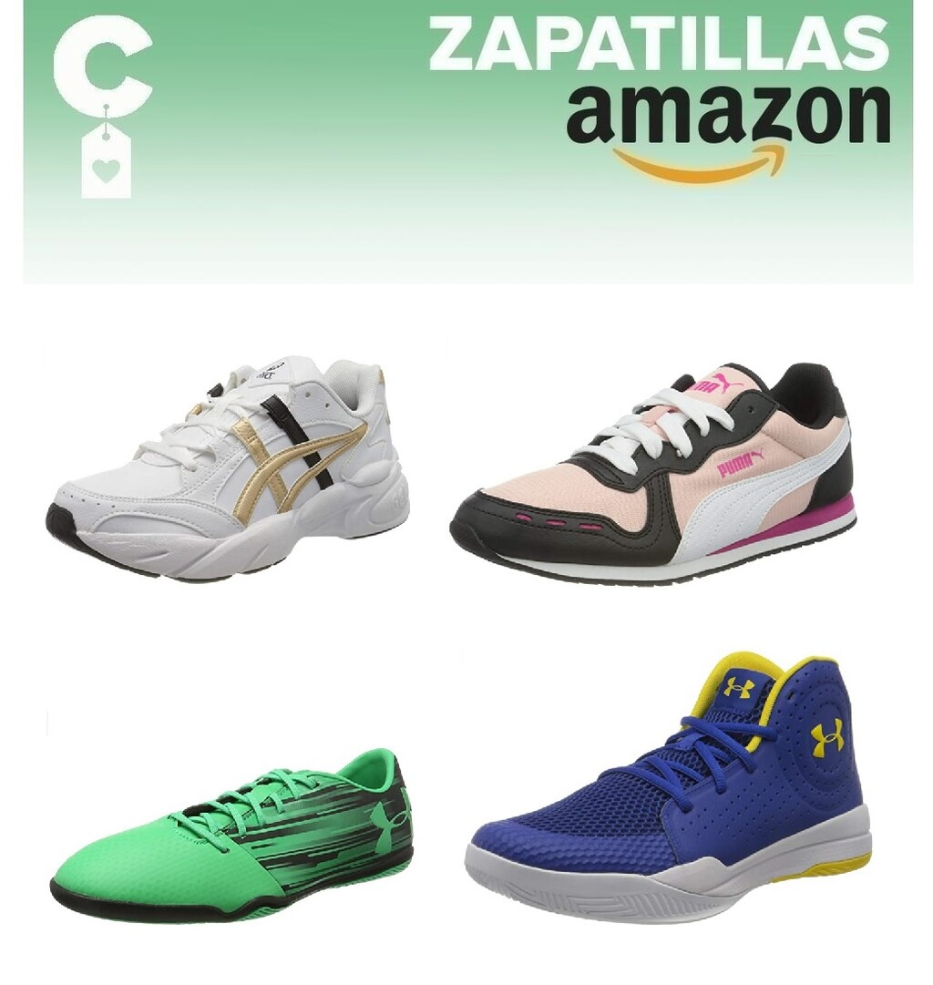 Chollos en tallas sueltas de zapatillas Asics, Nike, Under Armour o Puma en Amazon