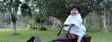 """Un padre construye una increíble """"Speeder Bike"""" de Star Wars para el primer cumpleaños de su hija"""