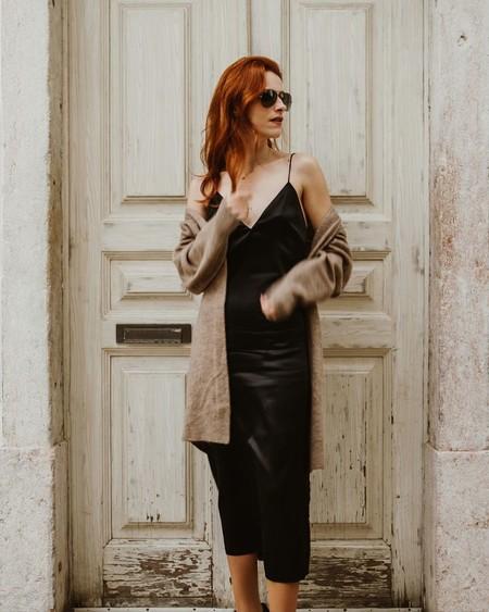 Vestido Lencero Negro 13