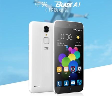 ZTE presenta Blade A1, un gama de entrada con lector de huellas por solo 85 euros al cambio