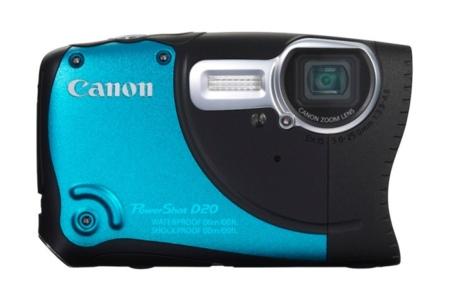 Canon D20 de frente