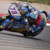 Álex Márquez hace el mejor tiempo en una igualada Moto2 con 16 pilotos dentro del mismo segundo