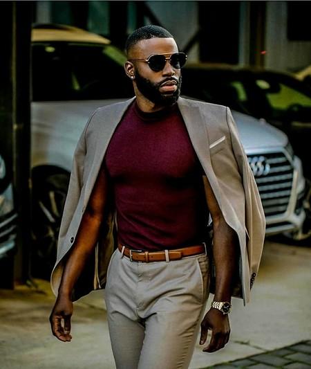Tan Suit Men Street Style Beige Trendencias Hombre 12
