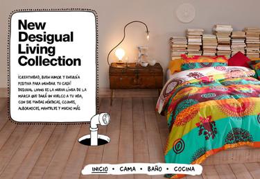 Desigual Living Collection, la marca más original llega a tu hogar