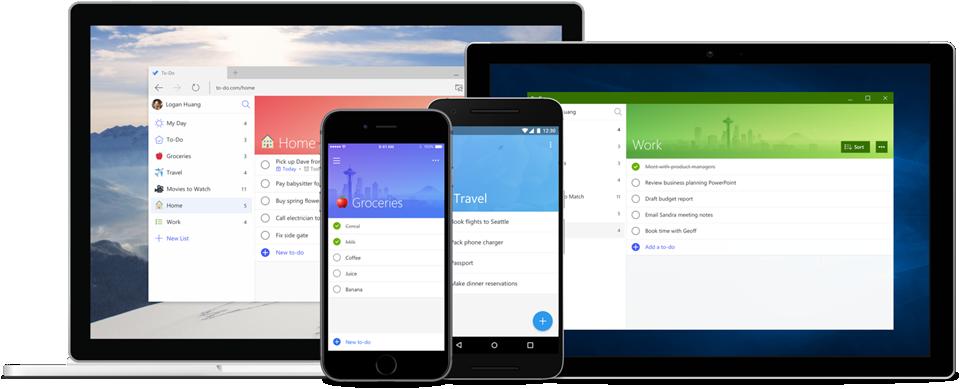 Microsoft actualiza To-Do en Android: se ha mejorado la interfaz para que se puedan aprovechar mejor las grandes pantallas
