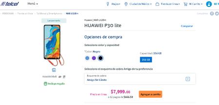 Huawei P30 Lite Nueva Edicion Telcel