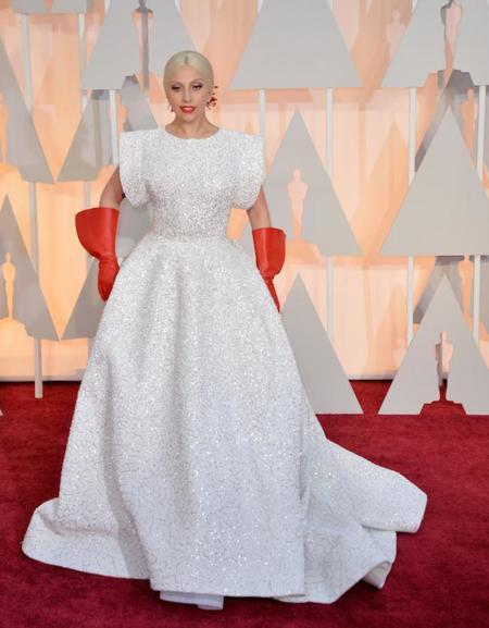 Lady Gaga Oscar 2015 3