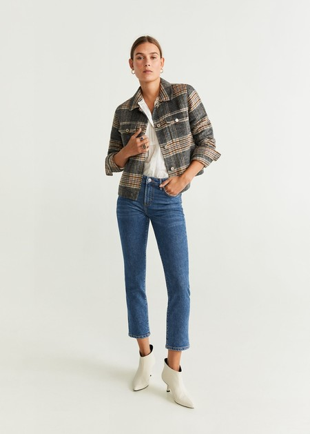Jeans slim cropped
