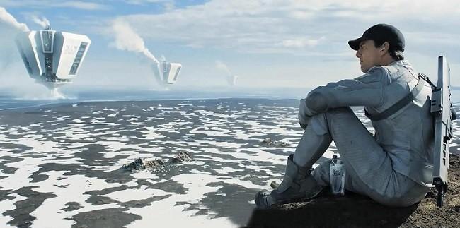 Imagen del actor Tom Cruise en 'Oblivion'