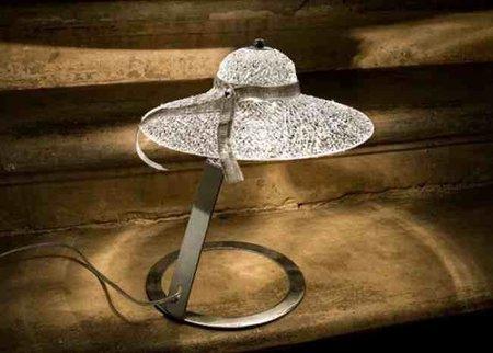 Una buena idea: una lámpara con sombrero