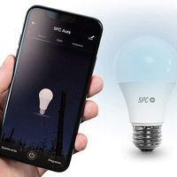 SPC presenta Aura, su nueva gama de bombillas conectadas que podrás controlar desde el móvil