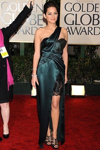 Las más elegantes de los Globos de Oro 2010