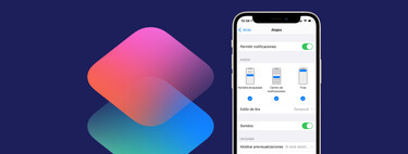 Así podemos configurar o desactivar las notificaciones de la app Atajos en nuestro iPhone o iPad
