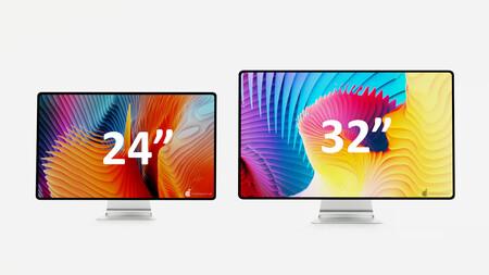 tamaño pantalla iMac 2021